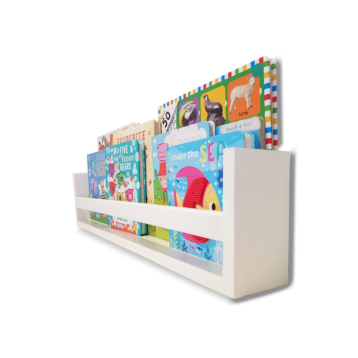 Bookshelf Deep-etched 2