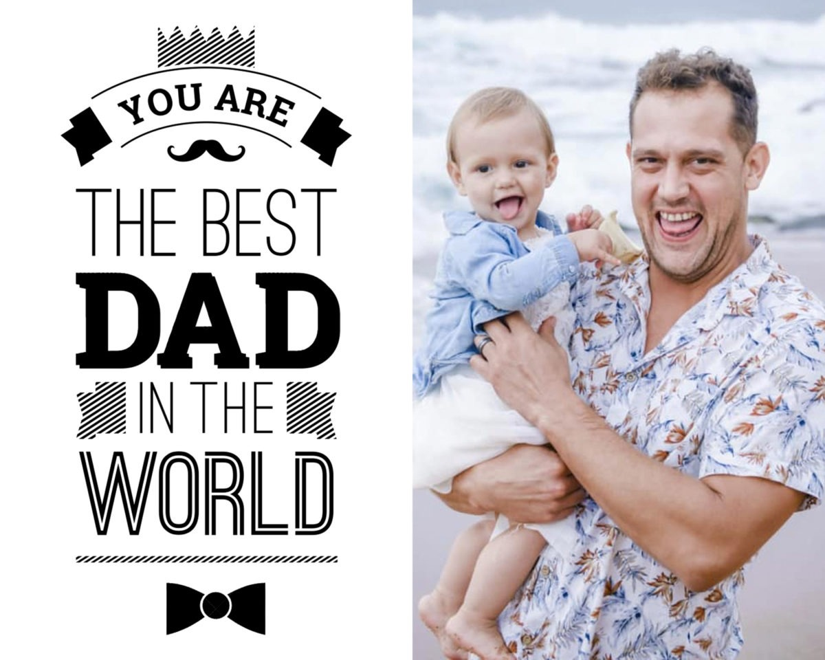 Fathers Day Card 3 – colour