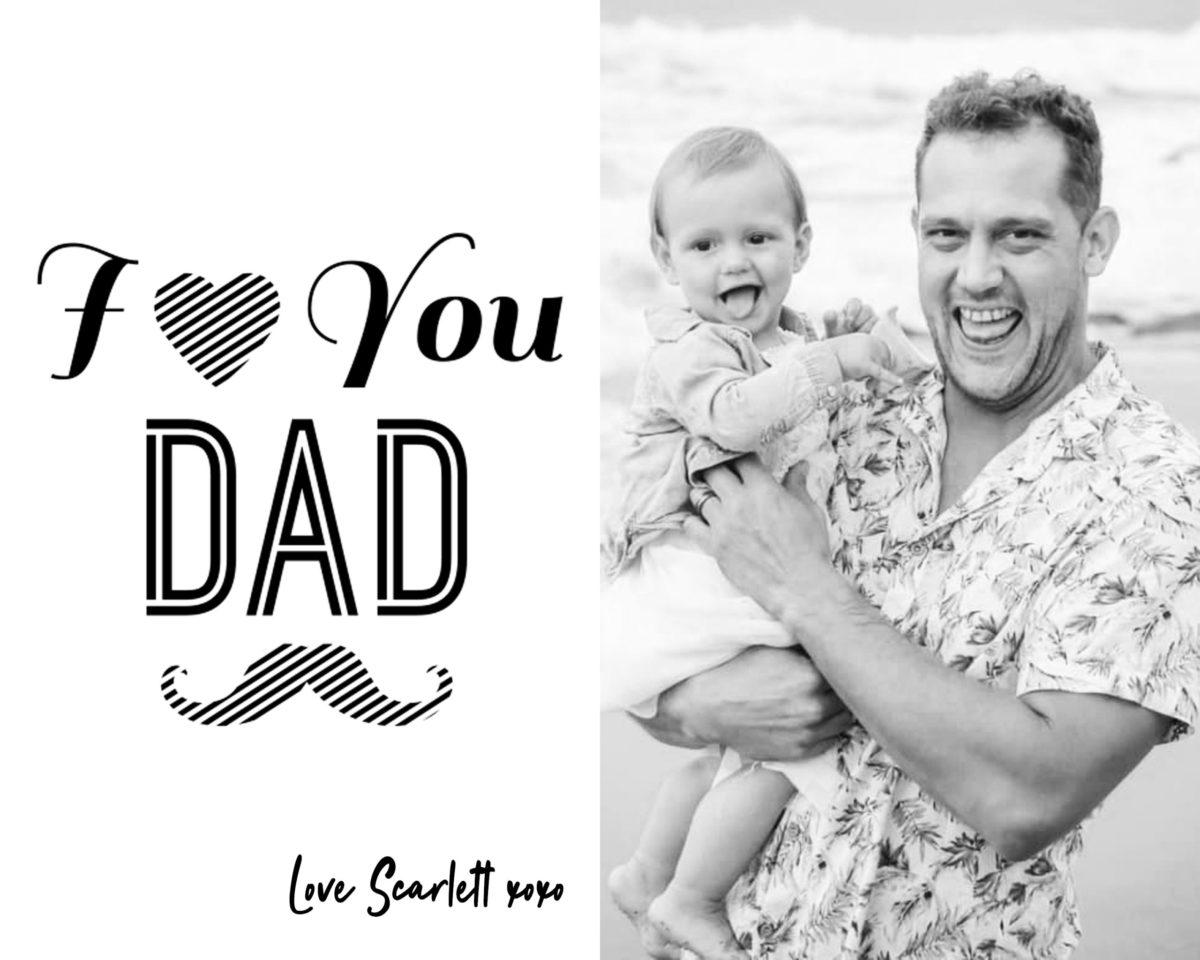 Fathers Day Card 4 – b&w