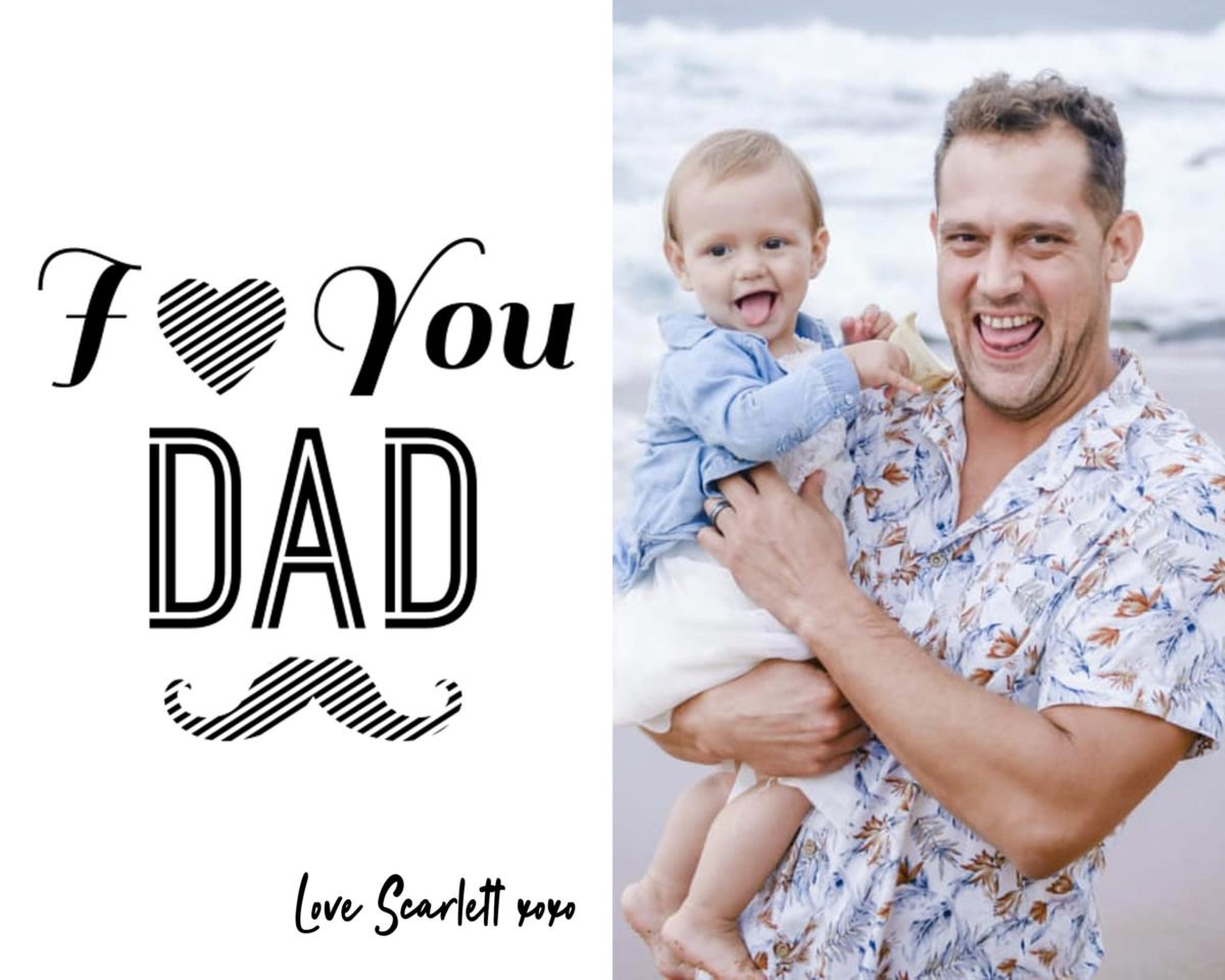 Fathers Day Card 4 – colour