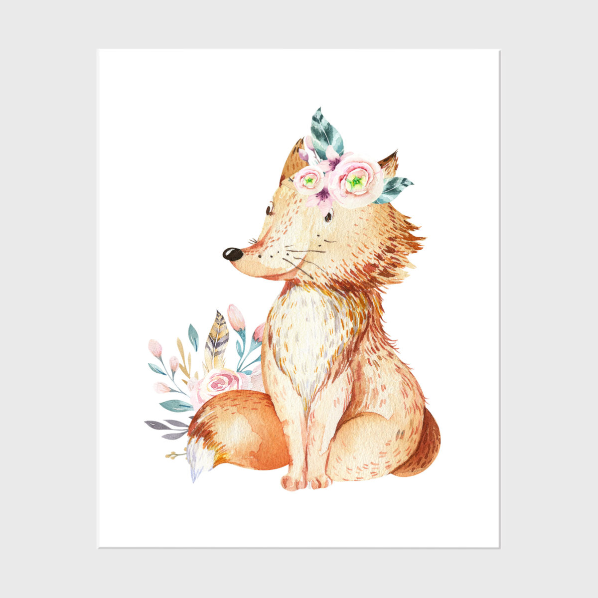 23. Fox with floral (2)