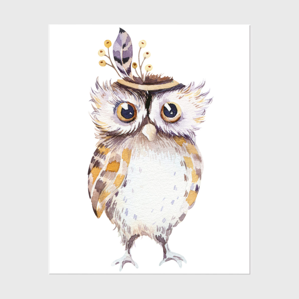 26. Owl without floral