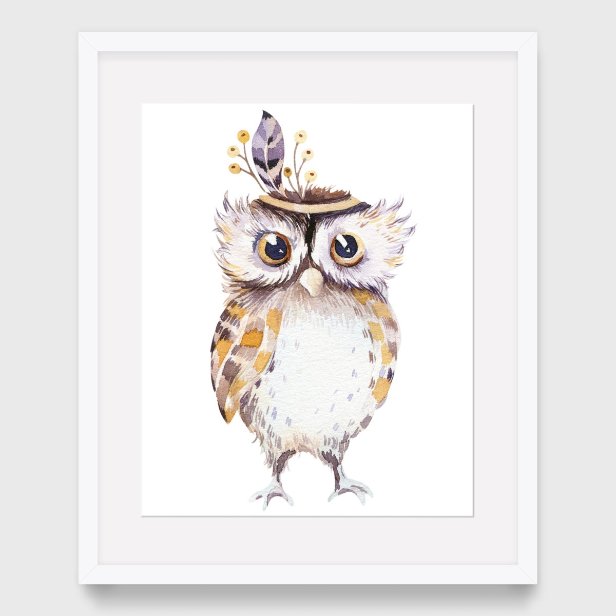 44. Owl without Floral