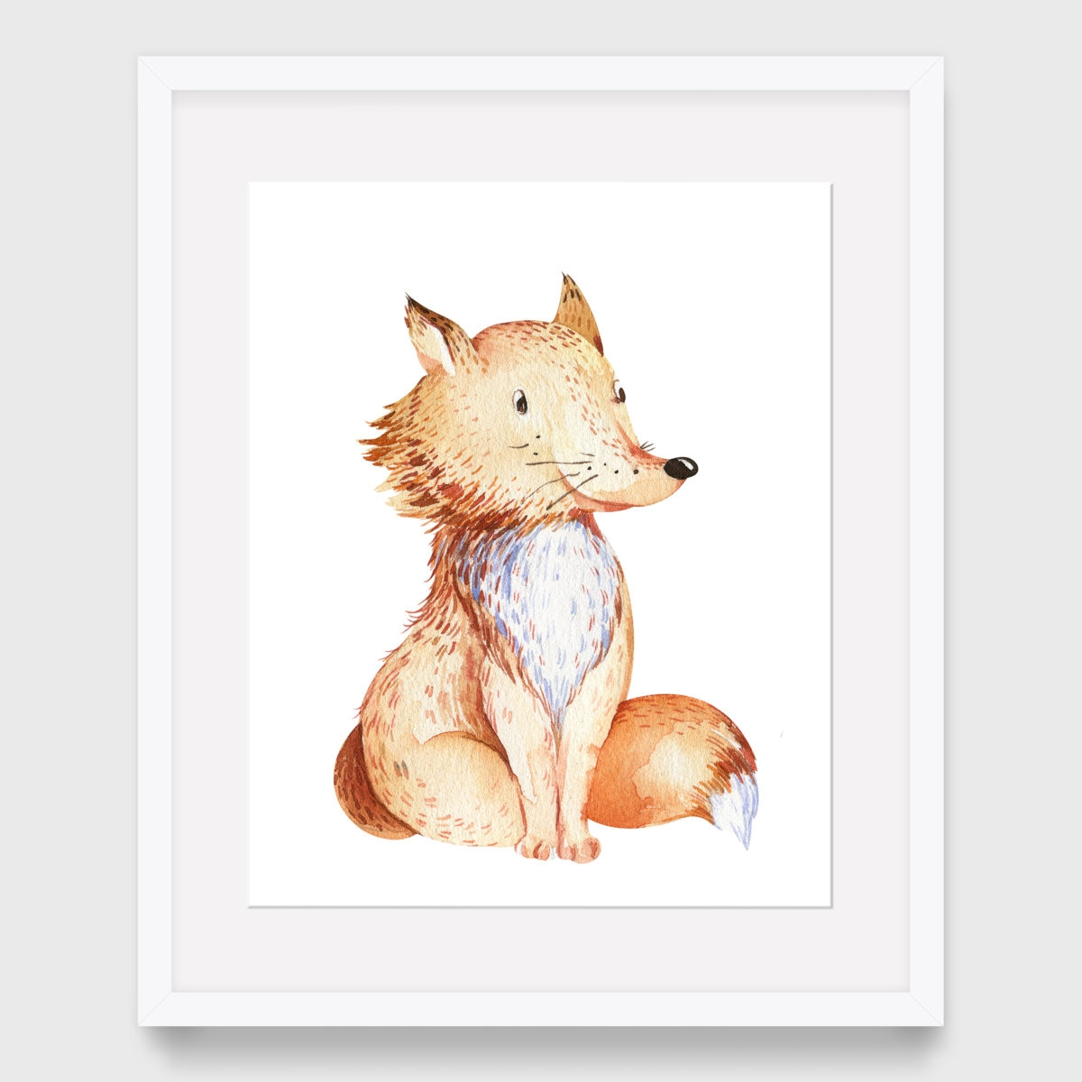45. Fox without floral