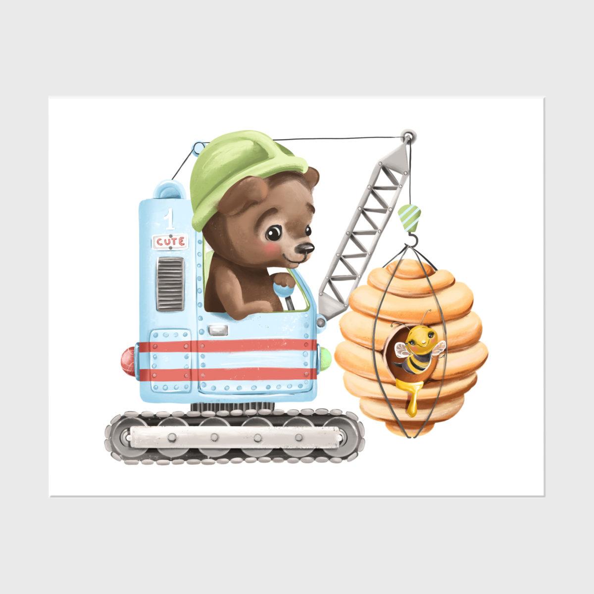 3. Baby builder bear