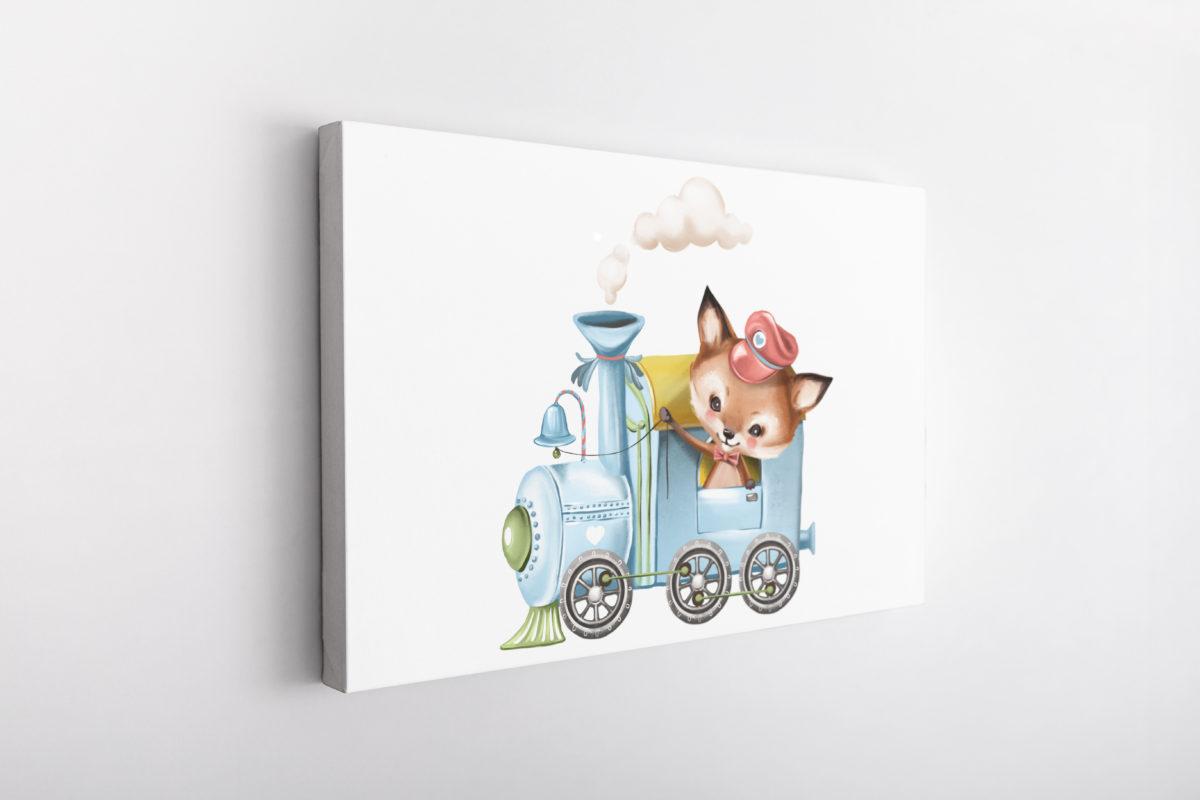 Little Fox Train driver