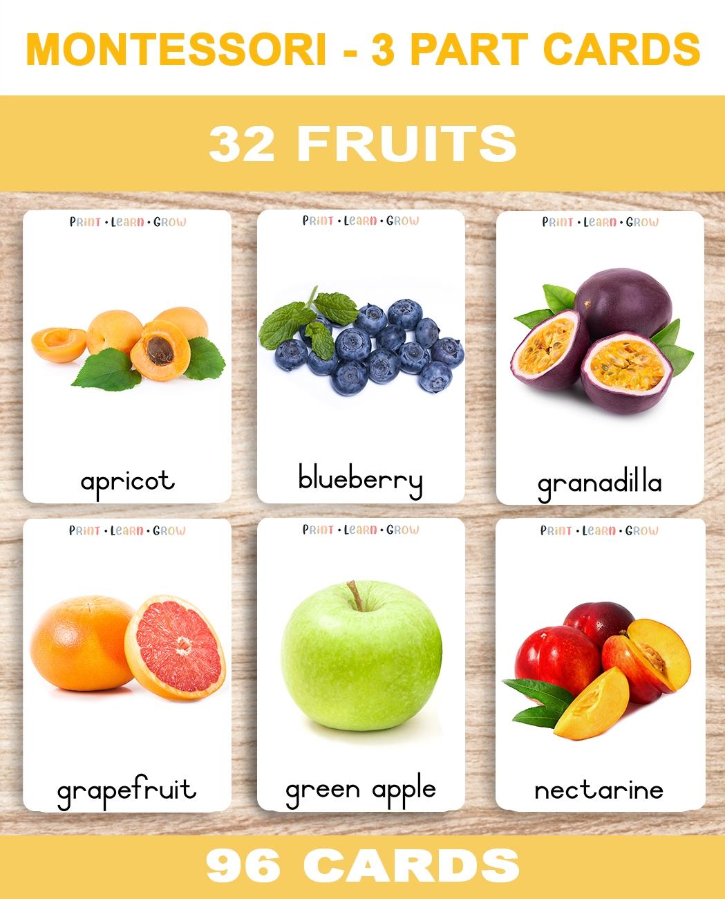 0. Fruits – Cover – TemplateA