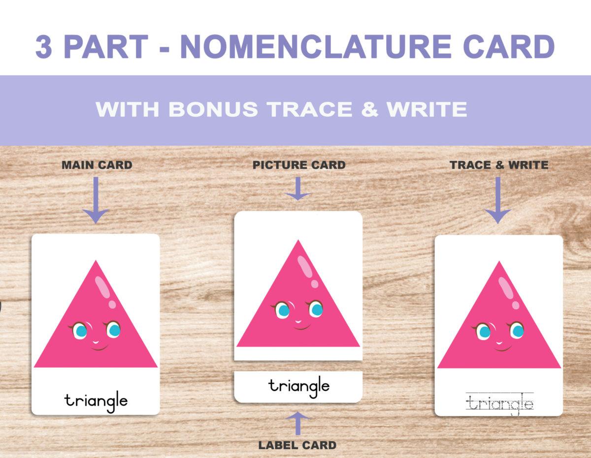 1. Shapes – Nomenclature Template