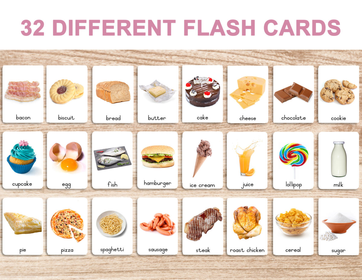3. Foods – Cards