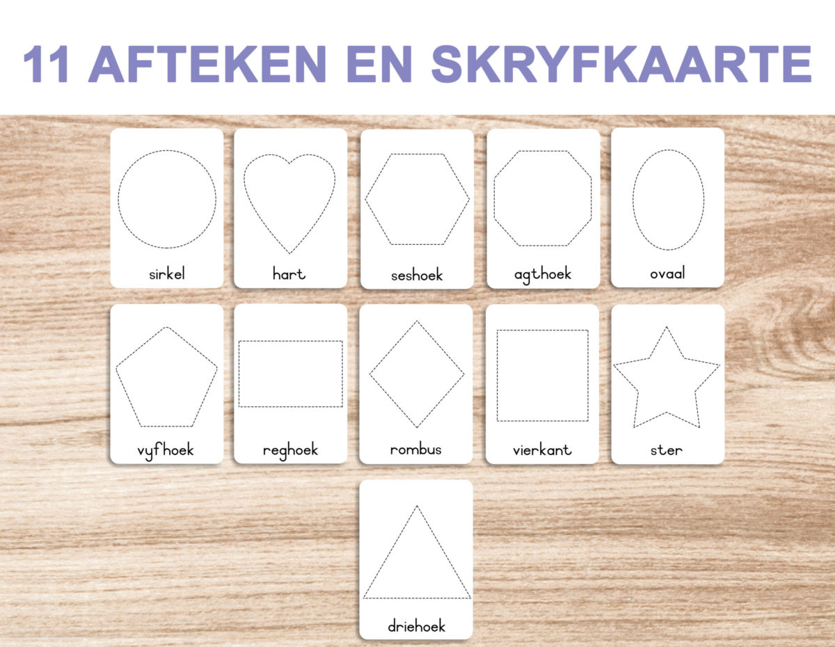 7a. Vorme – Trace and Write Cards template