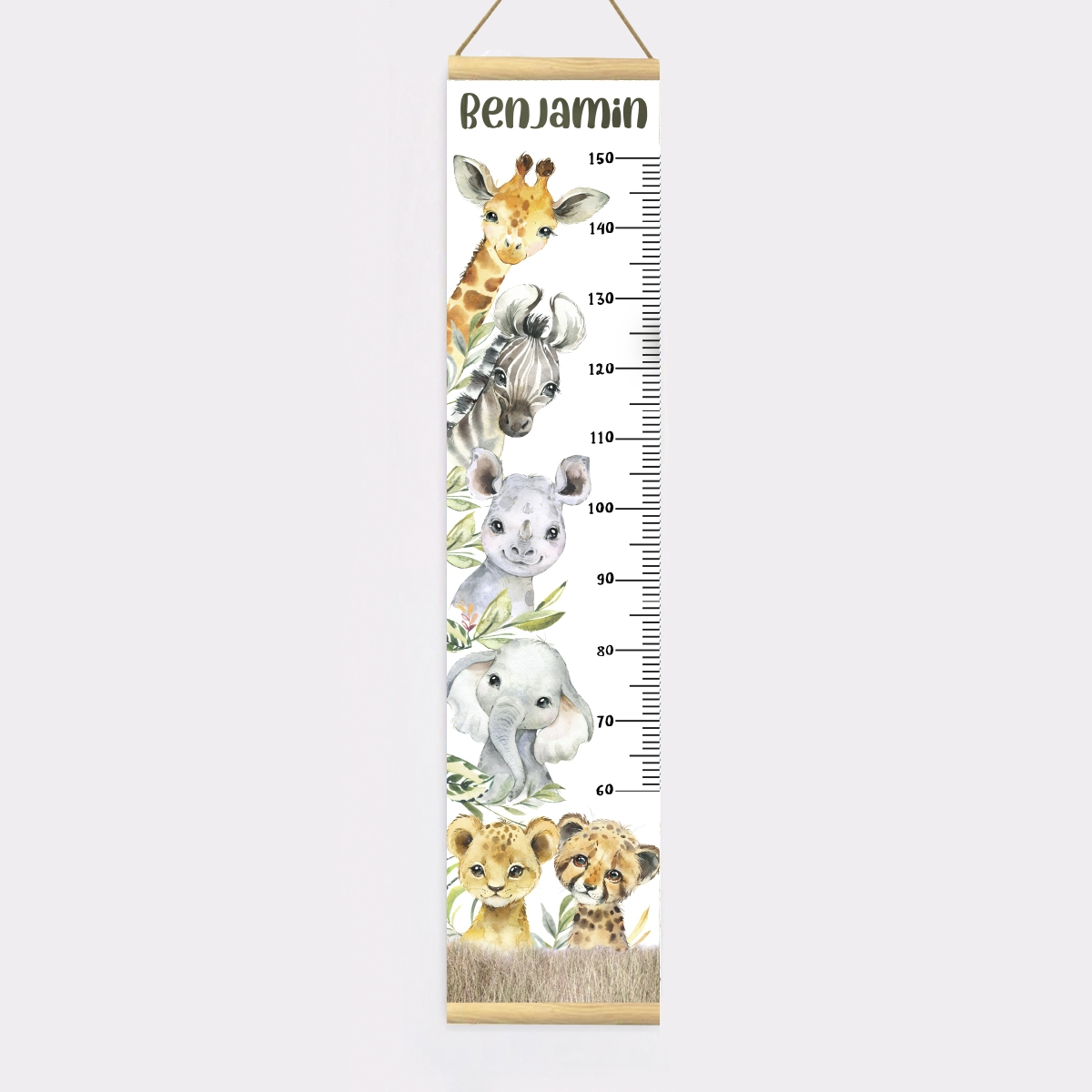 Michelle Eady – Height Chart – Proof Canvas