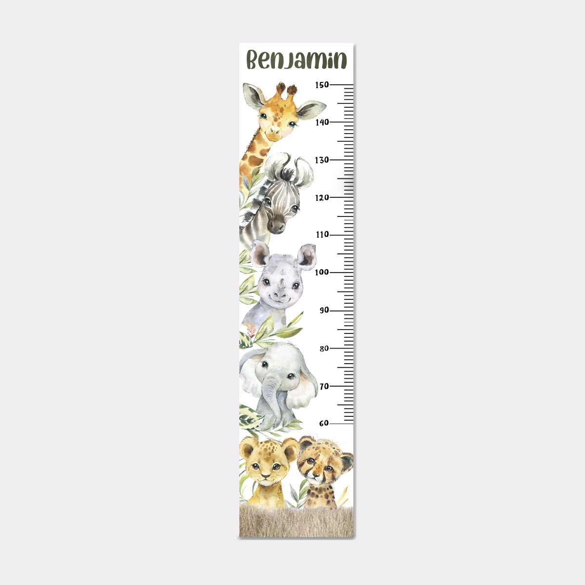 Michelle Eady – Height Chart – Proof Poster