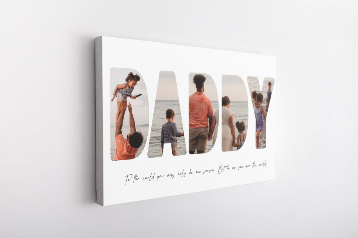1. Daddy – Canvas