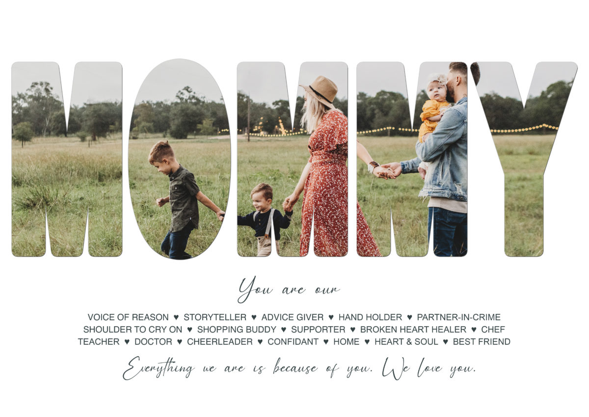 2. Mommy – Template – A2