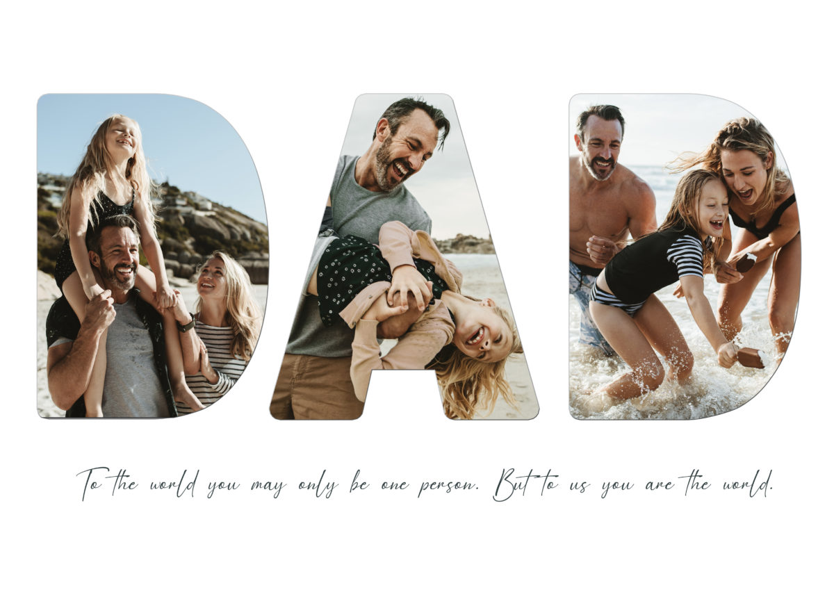 Dad – Template – A2
