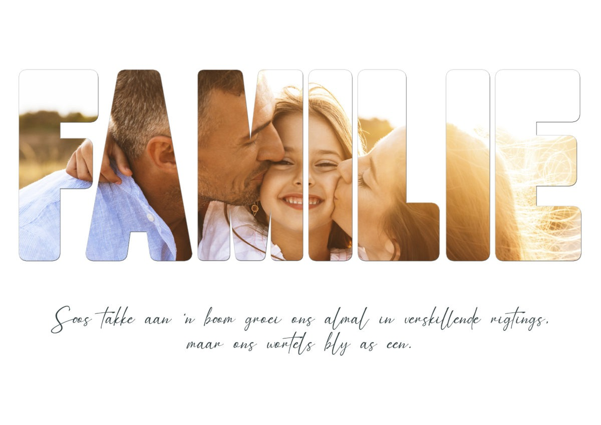Familie – Template – A2
