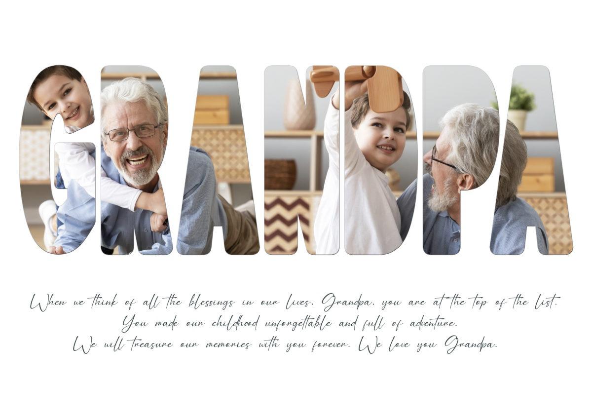 Grandpa – Template – A2