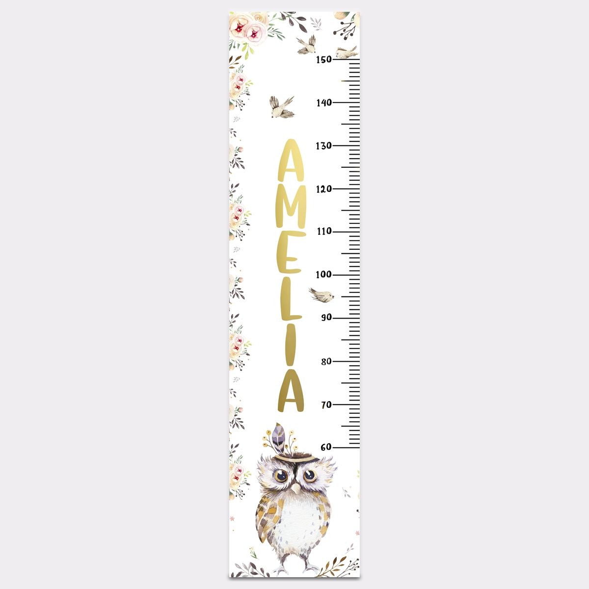 Owl – Height Chart – Proof