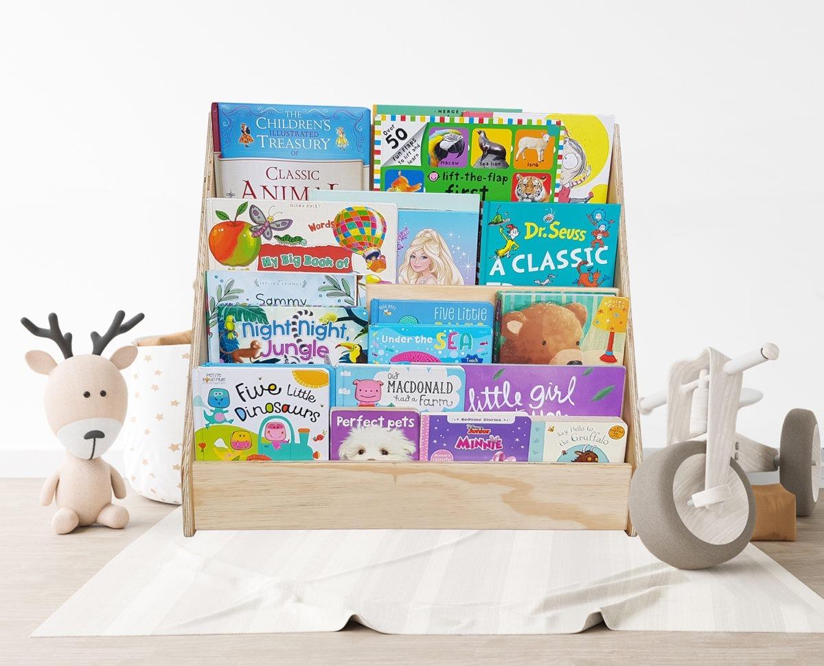 Small bookshelf styled – web