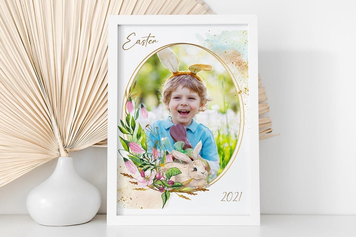Easter Frame 1 Template 2 – Website