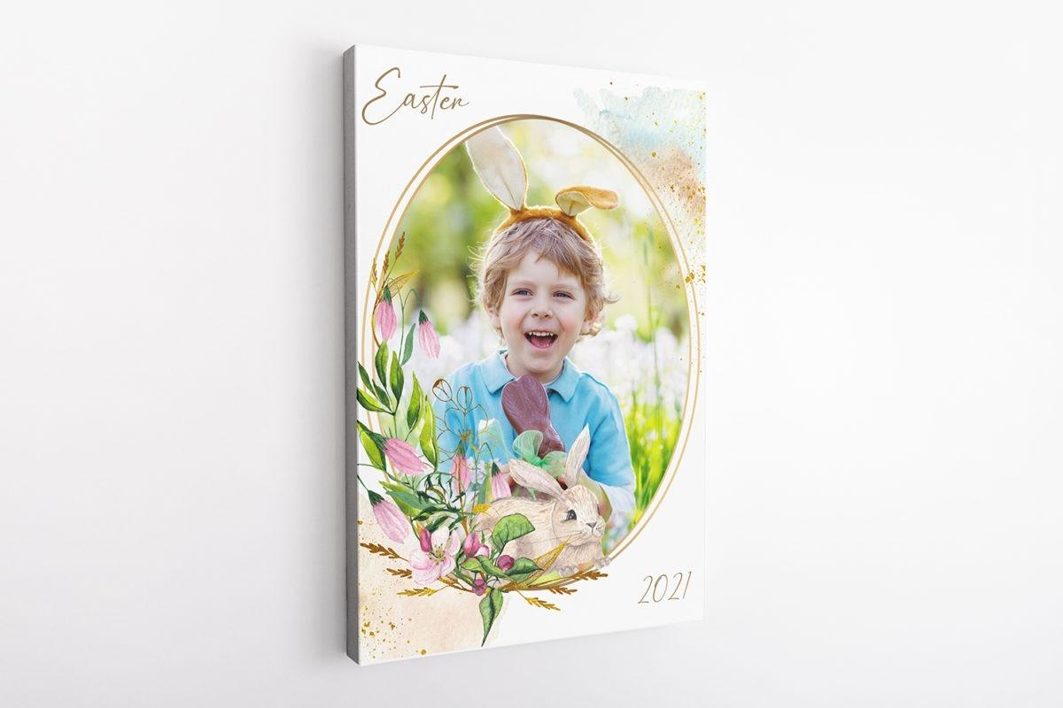 Easter Frame 1 Template 3