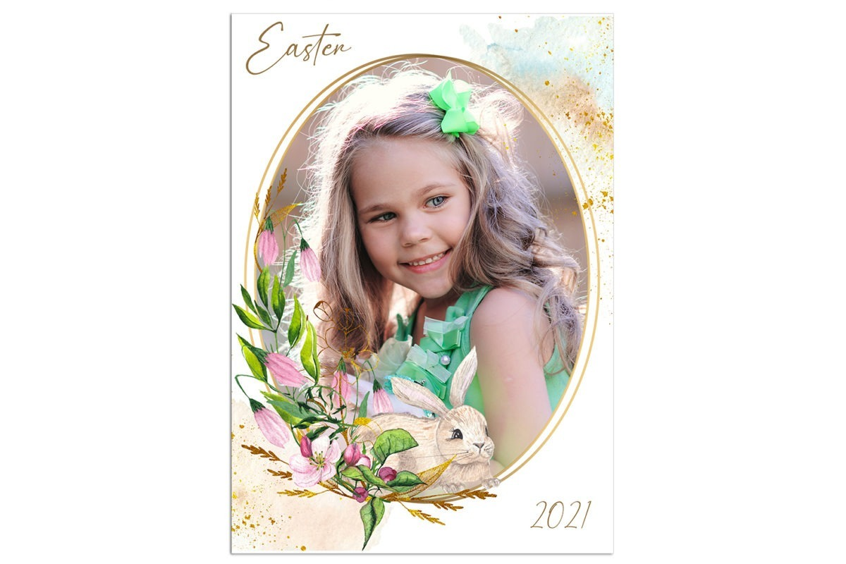 Easter unfFrame 1 Template 1