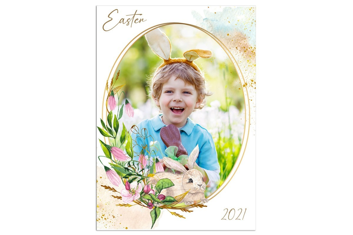 Easter unfFrame 1 Template 2