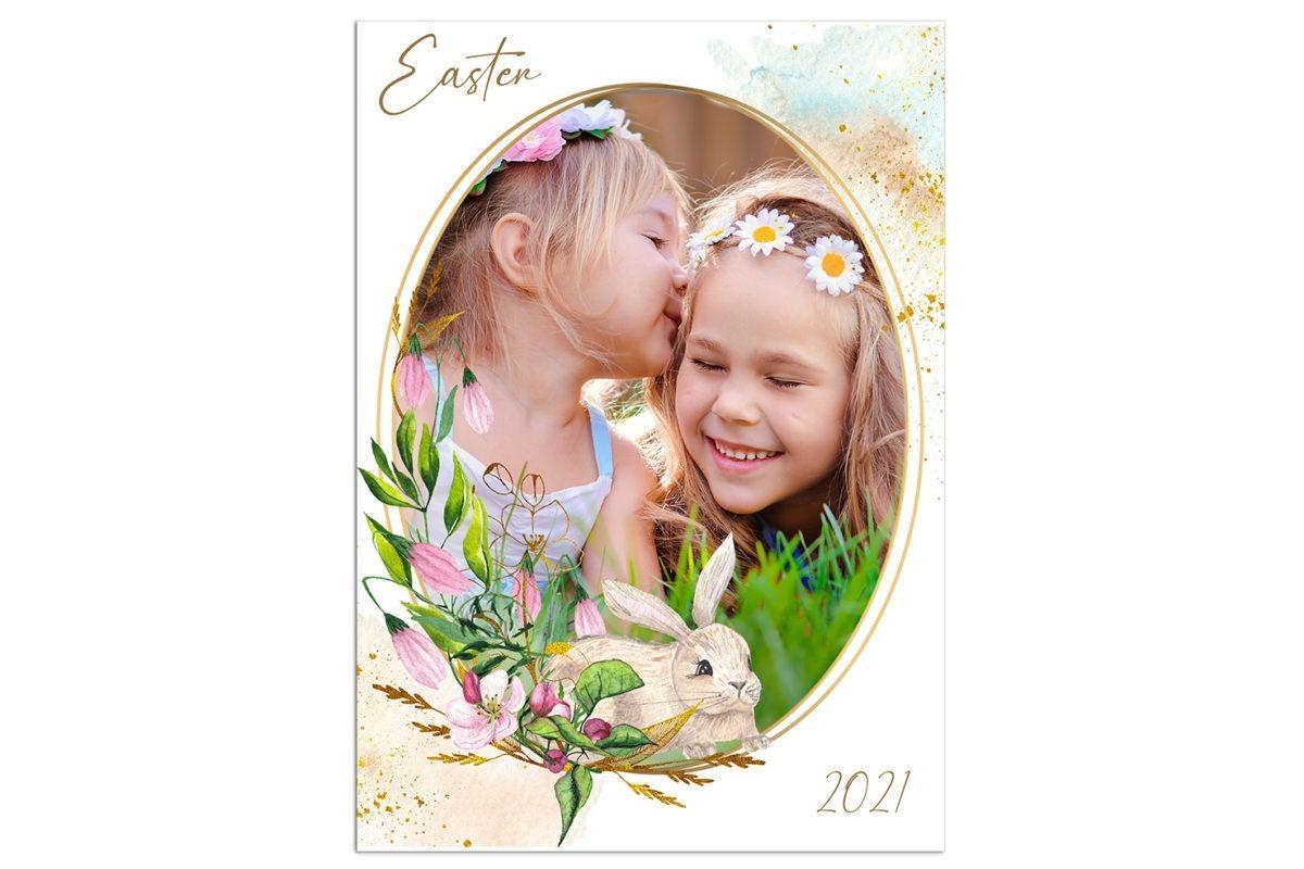 Easter unfFrame 1 Template 3