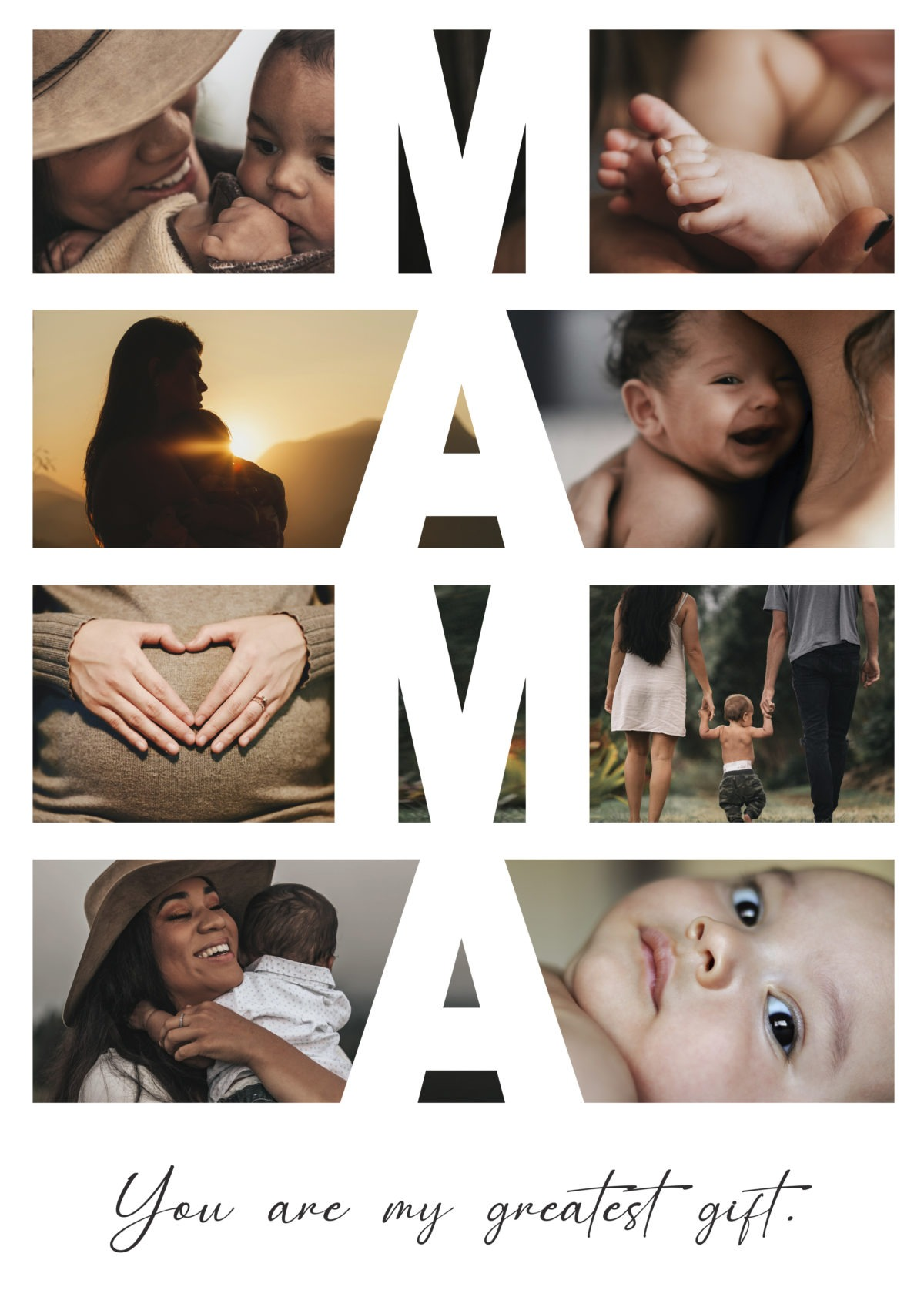 Mama – Poster – A3 Template