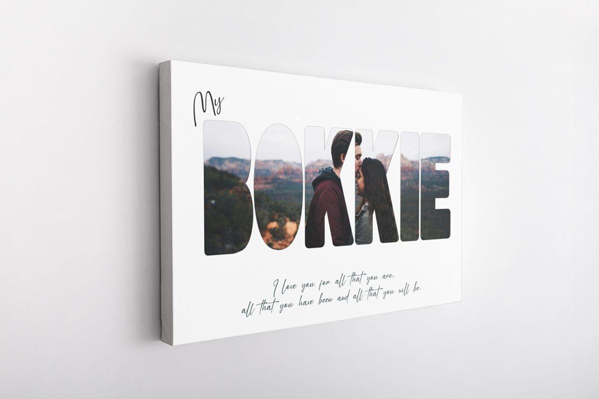 My Bokkie – Canvas