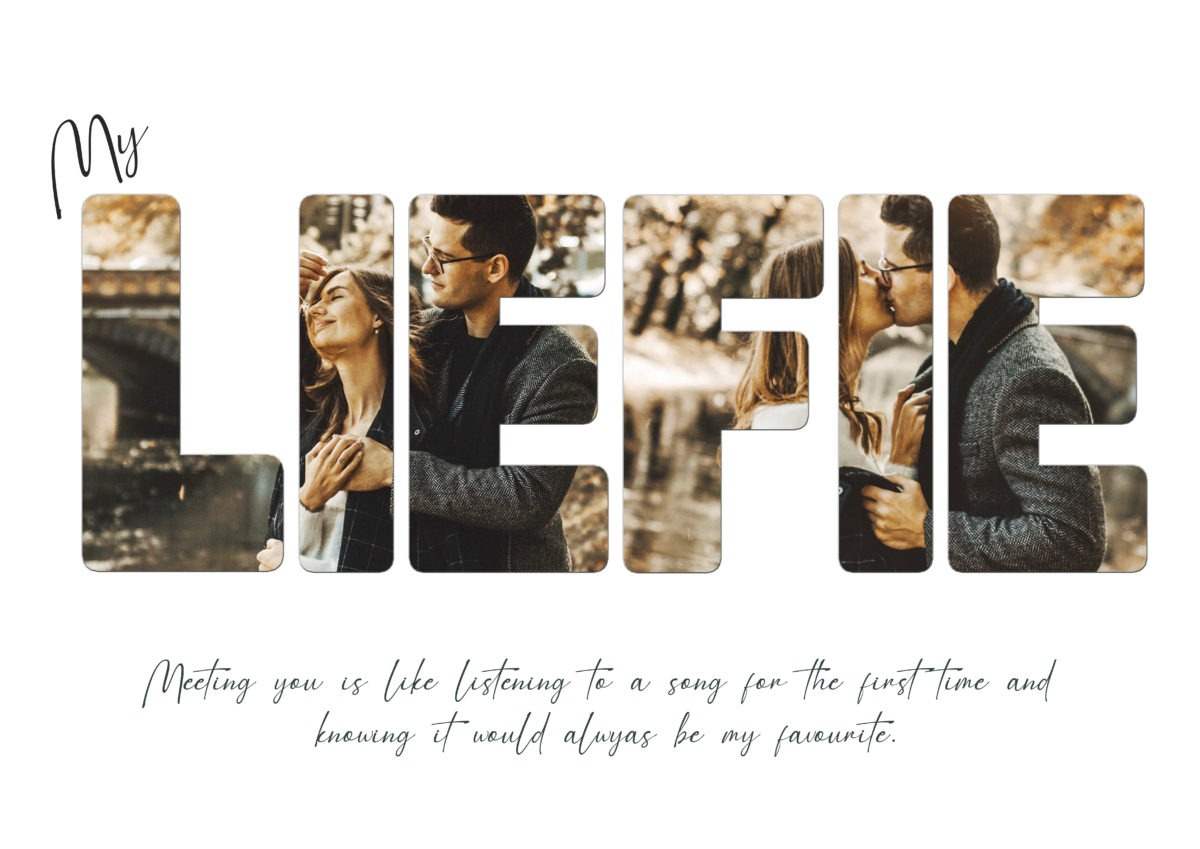 My Liefie – Template – A2
