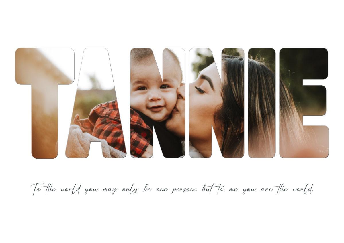 Tannie – Template – A2