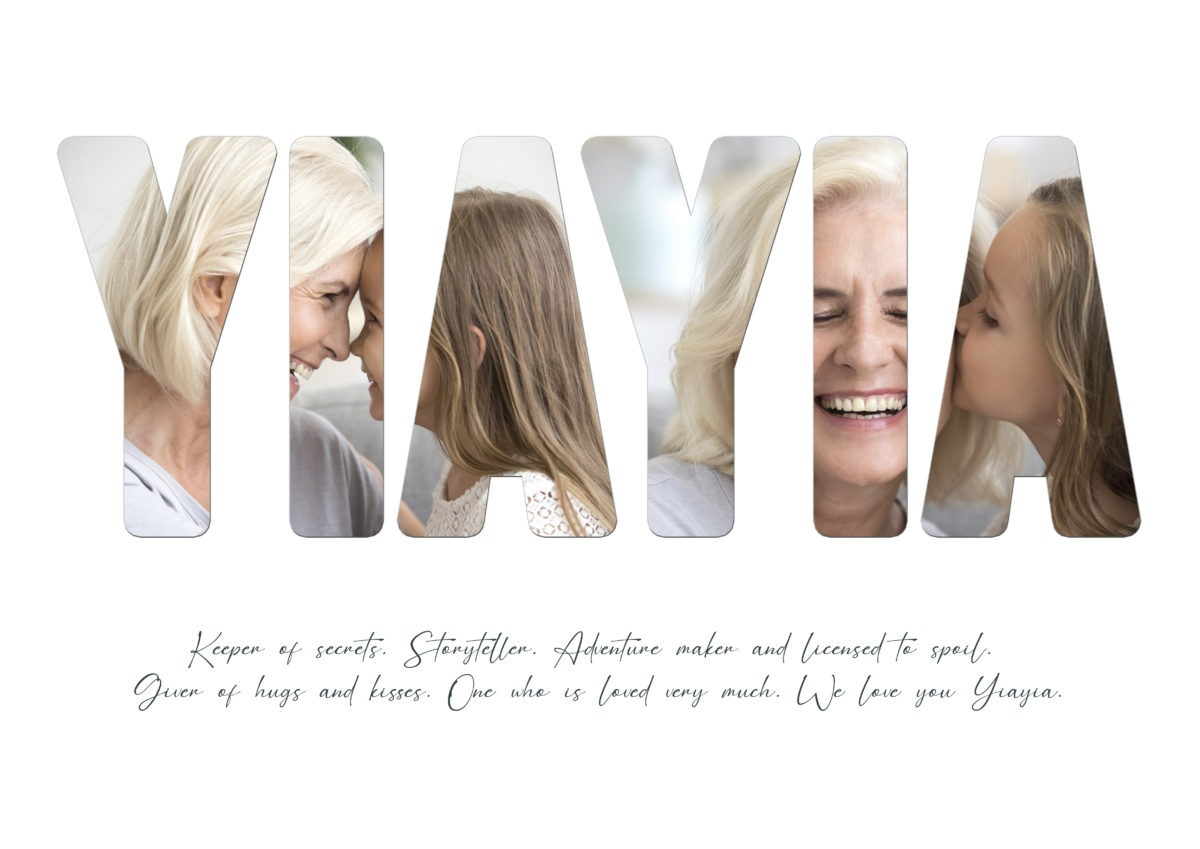 Yiayia – Template – A2