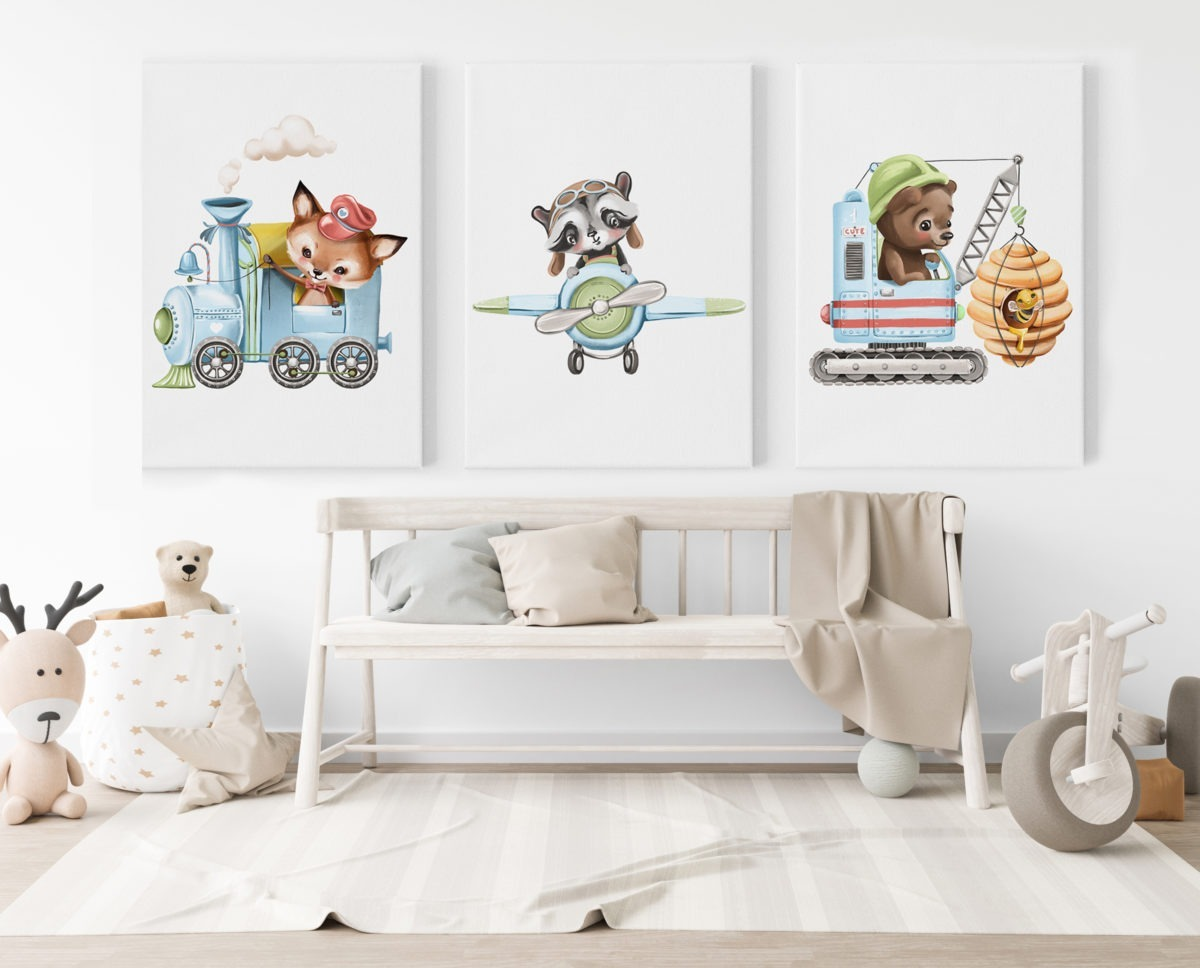 Boy Collection Feature Wall