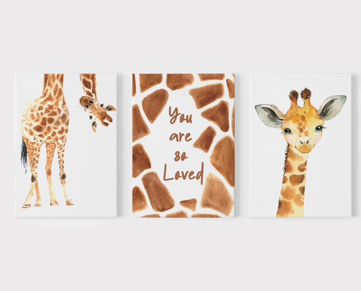 Giraffe Wall