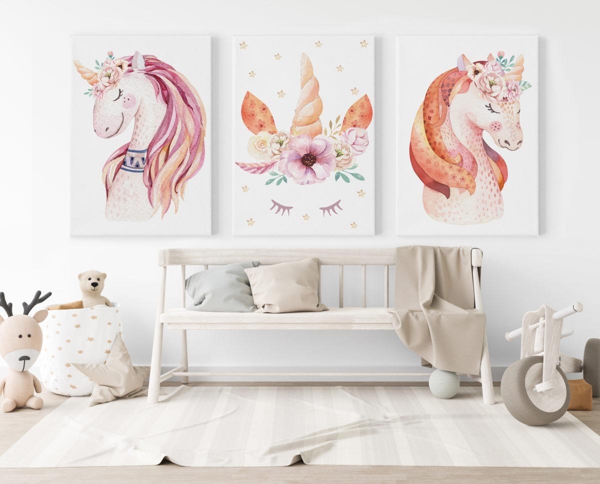 Unicorn Feature Wall
