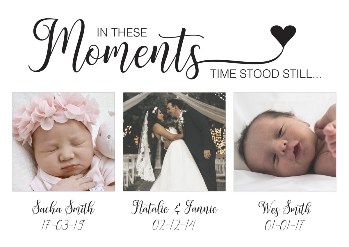 In these Moments – Proof