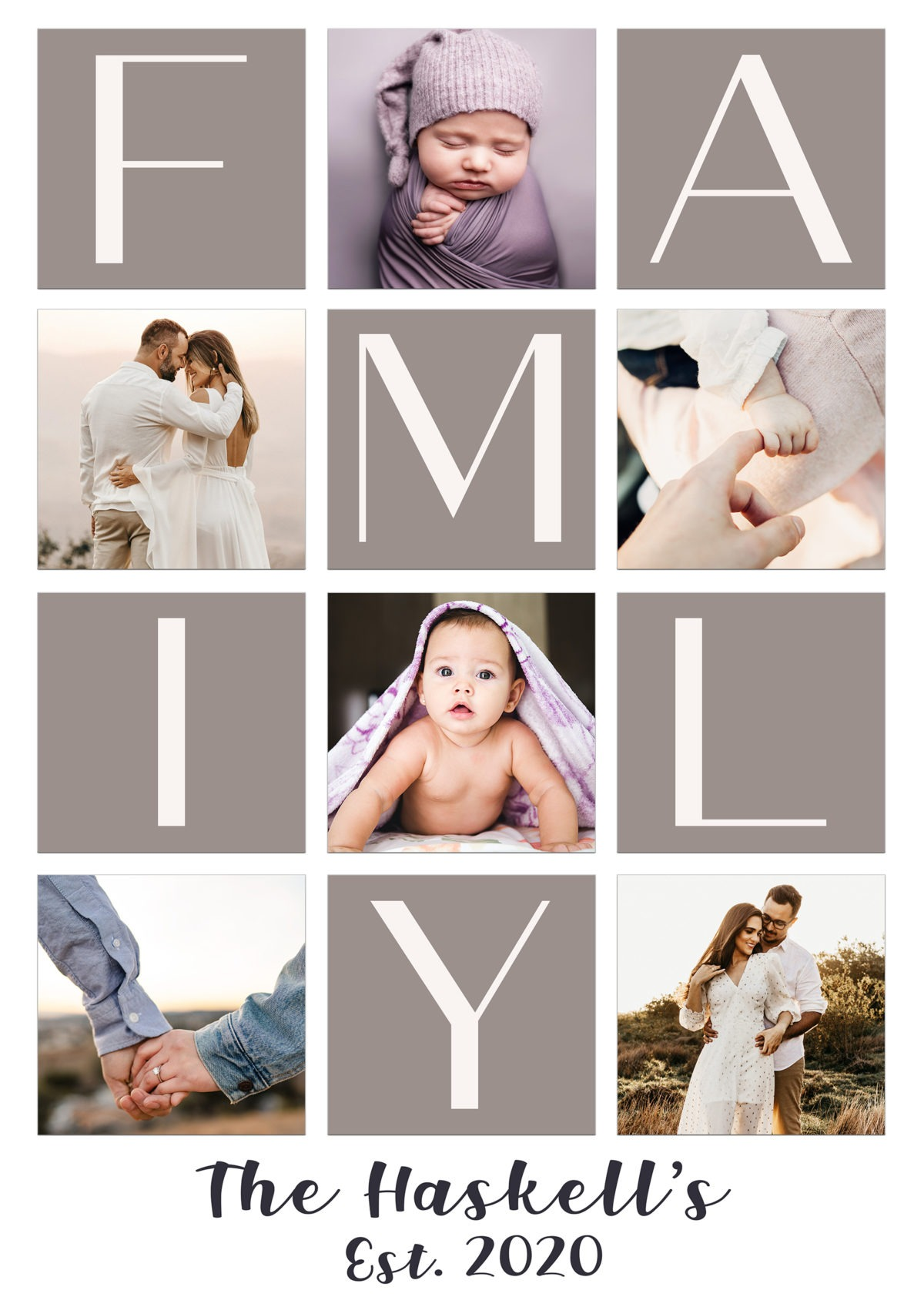 Family collage 1 – Template – A2 (website)