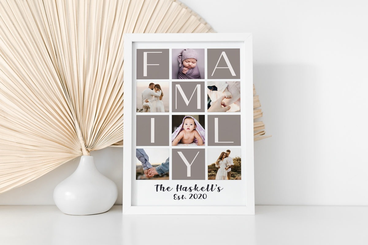 Family collage – Cover