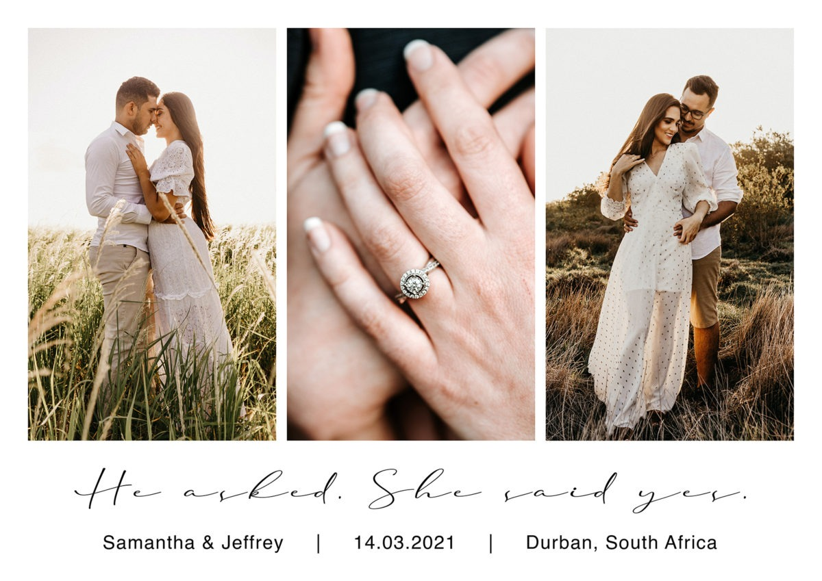 He asked, she said yes – web